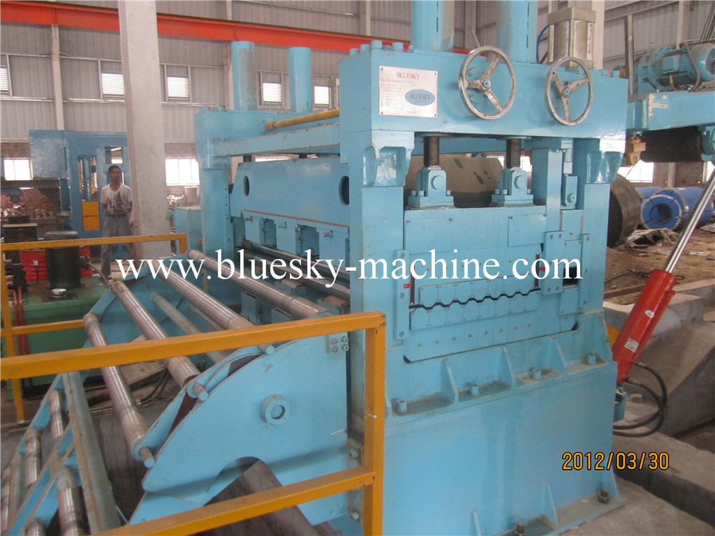steel coil cut to length line leveler