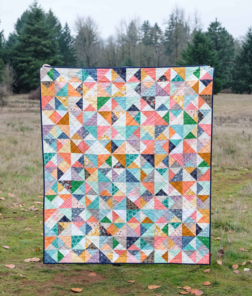 The Cleo Quilt Pattern - Kitchen Table Quilting