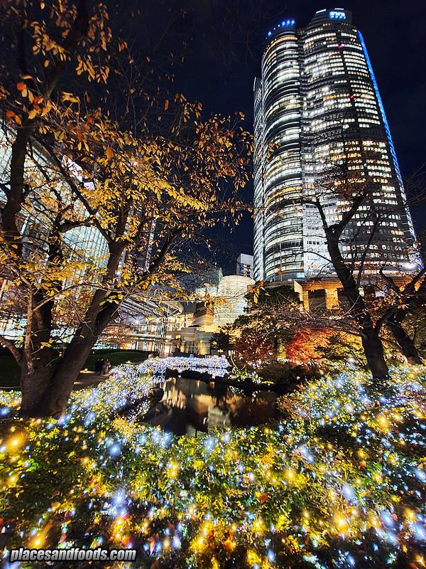 tokyo roppongi hills mori garden christmas