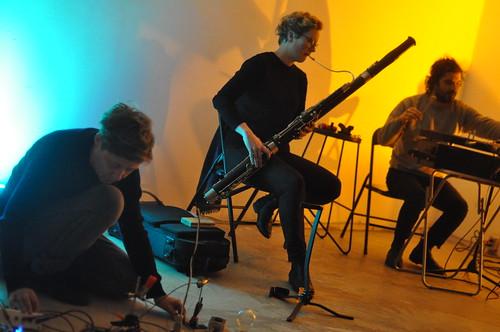 Anne-F Jacques, Alex Eastley and Adam Saikaley at Cinqhole