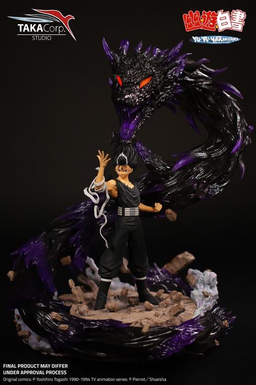 始祖級中二襲來!Taka Corp《幽☆遊☆白書》「飛影 邪王炎殺黑龍波」1/6比例 限量雕像(Hiei Dragon of Darkness Flame Limited Edition Statue)