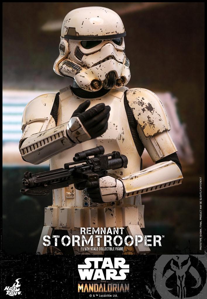 零星的帝國殘黨! Hot Toys - TMS011 -《曼達洛人》殘存的帝國風暴兵 Remnant Stormtrooper 1/6 比例人偶