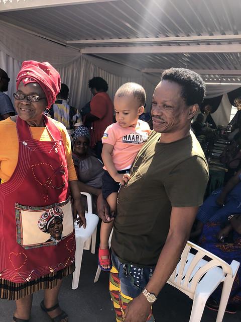 IMG_1945 Sbusi Zulu Umemulo Coming of Age Ceremony Reception Umlazi Durban KwaZulu-Natal South Africa November 2019 Eric Dumisani Ka Mbekoaka aka Eryck Dee with GoGo Elsie