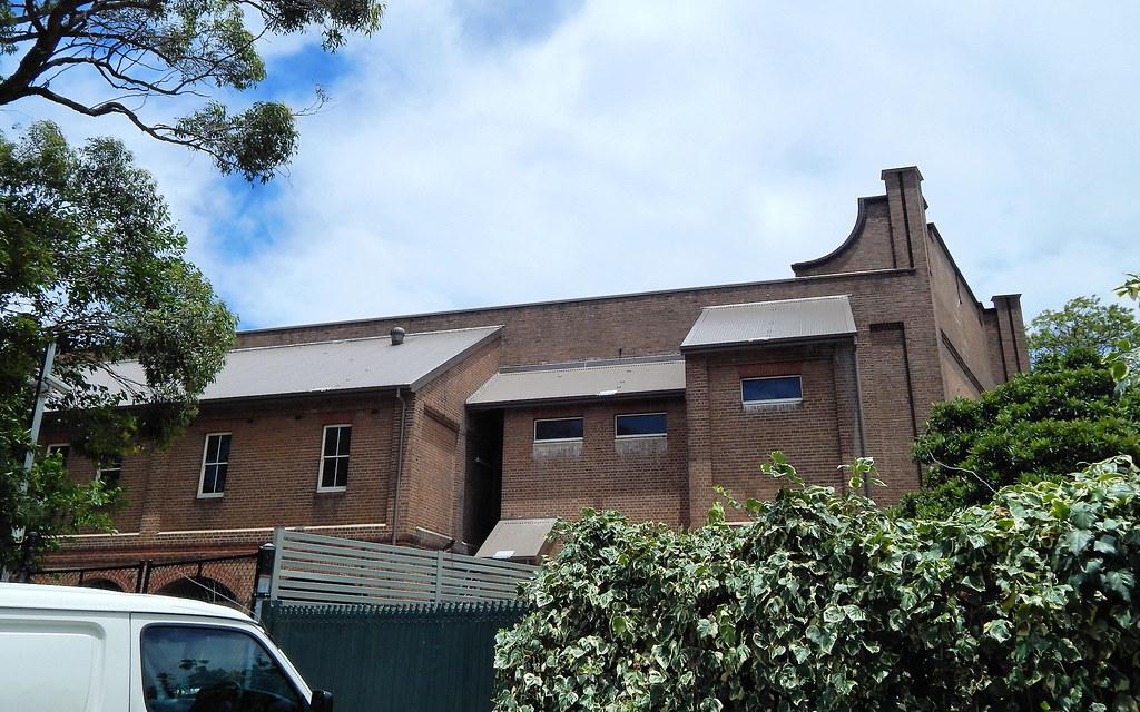 Back of Tempe Tram Depot, Tempe, Sydney, NSW.