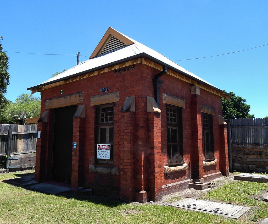 Waterboard Pumping Station, Rozelle, Sydney, NSW.