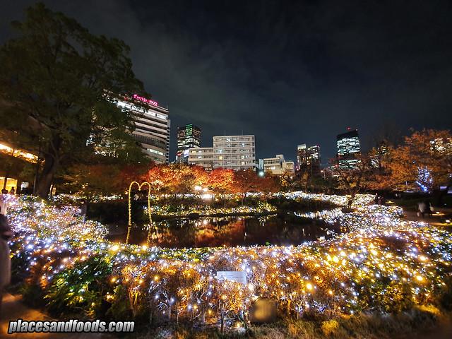 tokyo roppongi hills mohri garden illumination