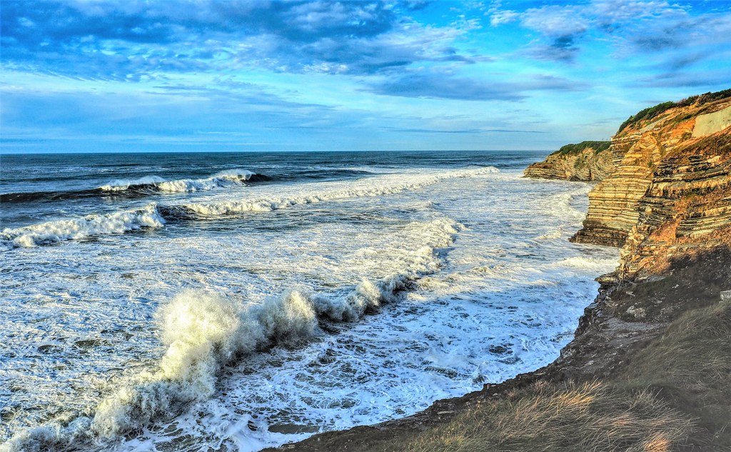 St-Jean-de-Luz. La mar brava.