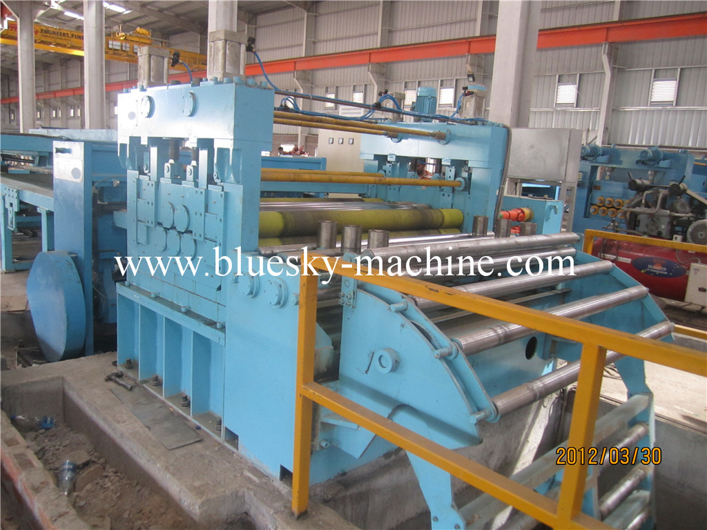 side guide cut to length line for sale