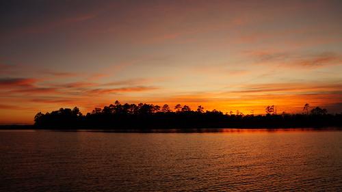 sunset sunsetsandsunrisesgold spectacularsunsetsandsunrises cloudsstormssunsetssunrises sony sonya58 sonyphotographing cloudscape fairfieldharbour northcarolina northwestcreek