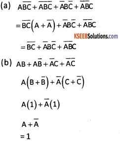 2nd PUC Computer Science Logic Gates Three Marks Questions and Answers 31