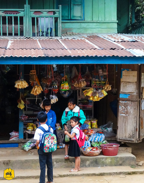 Muang Noy village, NamOu river valley, Laos