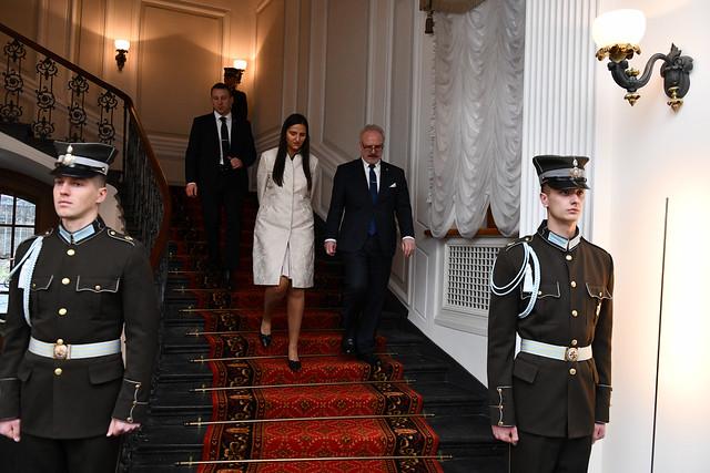 Baltijas valstu prezidentu tikšanās. Foto: Ilmārs Znotiņš Valsts prezidenta kanceleja
