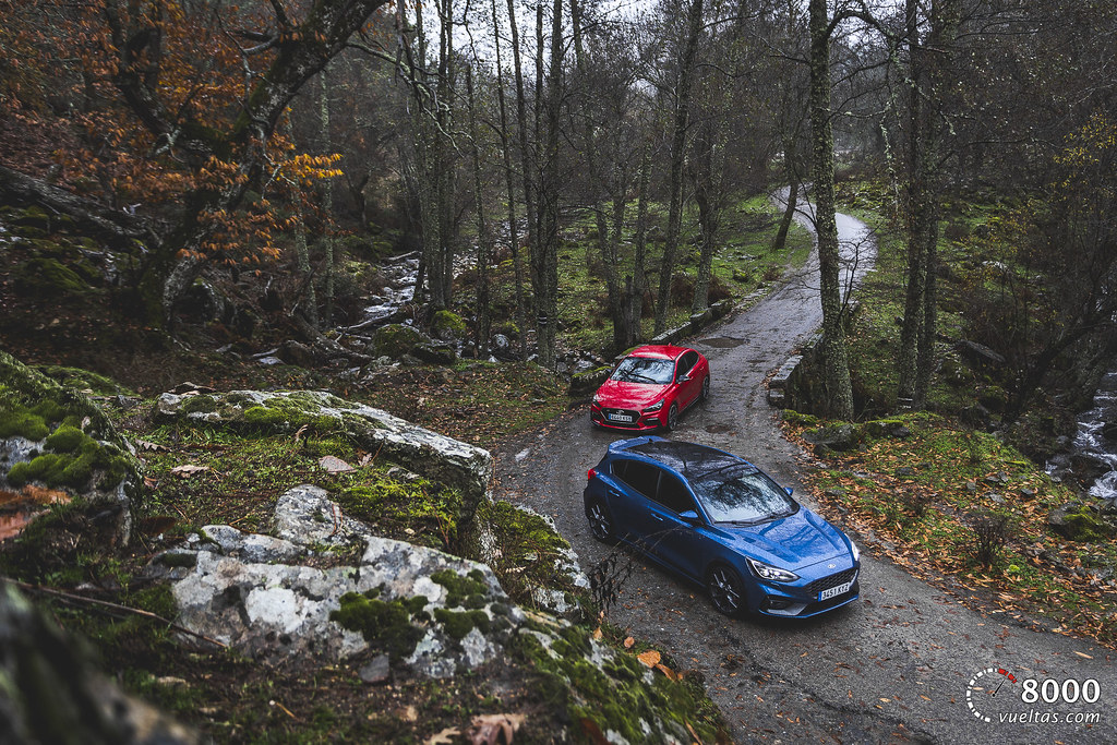 Hyundai I30N Performance vs Ford Focus ST - 8000vueltas-2