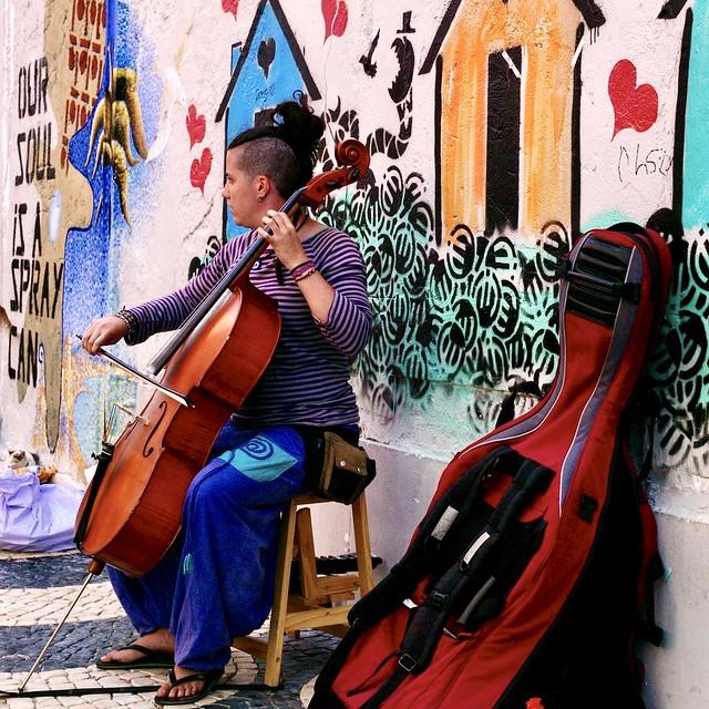 Street Cello Musician Artist