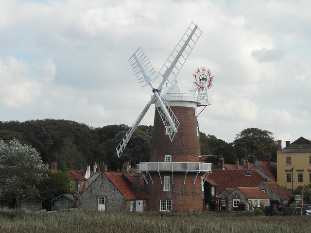 Cley windmill, North Norfolk