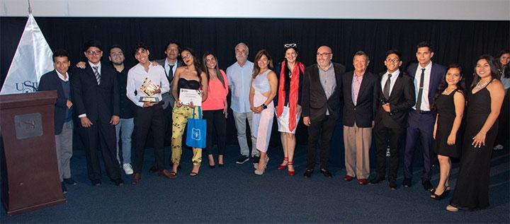 Carrera de Comunicaciones realizó la premiación del V Festival Audiovisual USIL 2019
