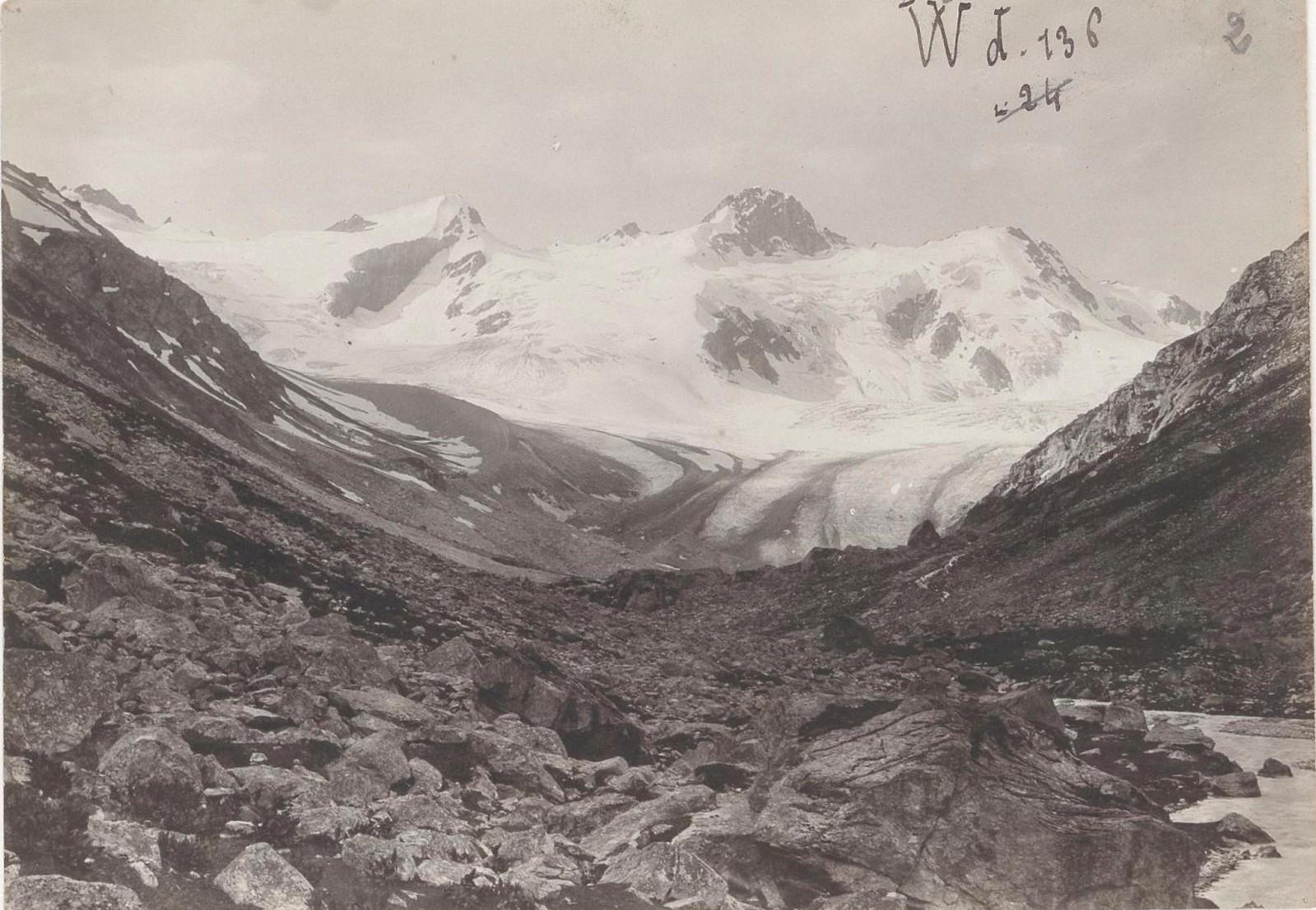 02. Западный Кавказ. Ледник Чириколь, июль 1898