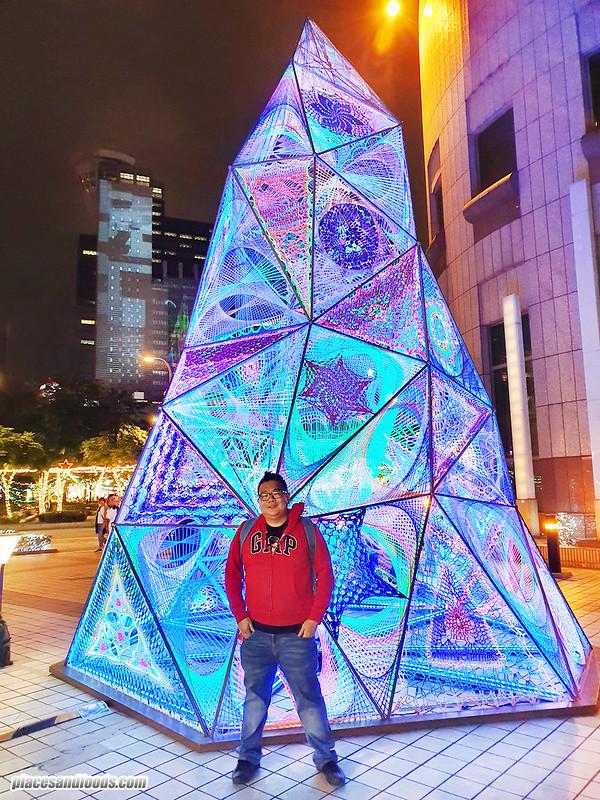 christmasland new taipei city led tree
