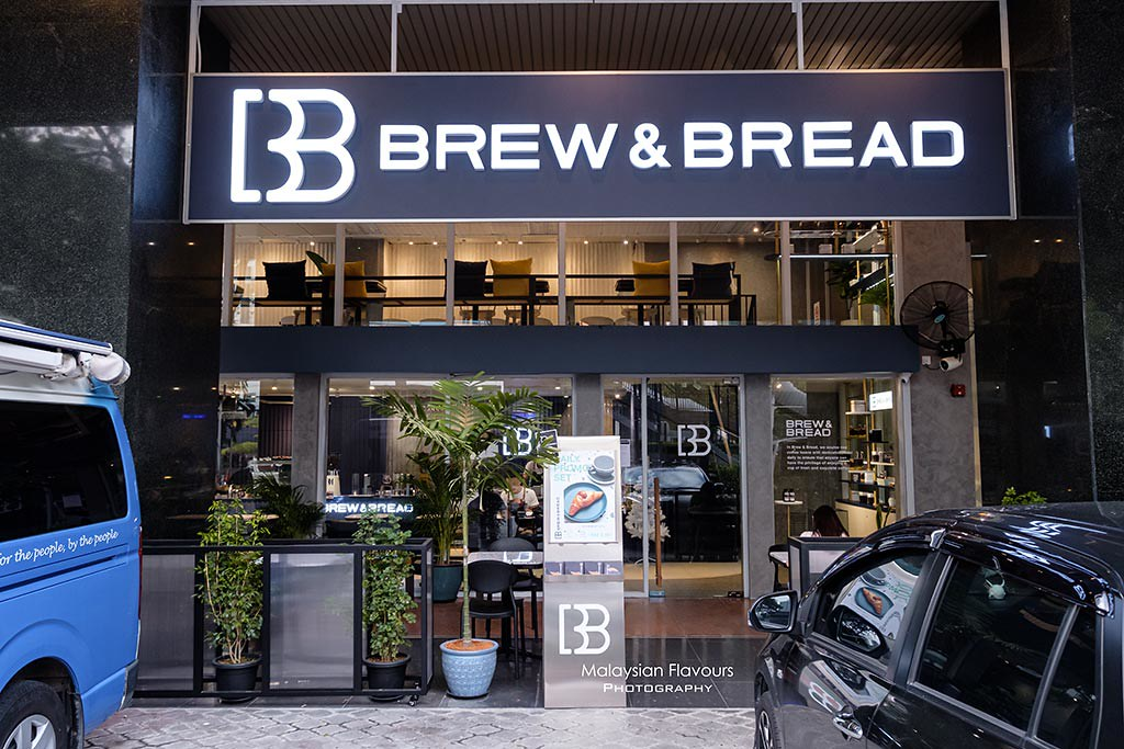 Brew and Bread wisma mca