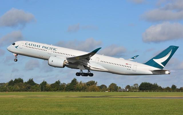 Dublin 2019 (255)   B-LRF A350-900----Cathay Pacific