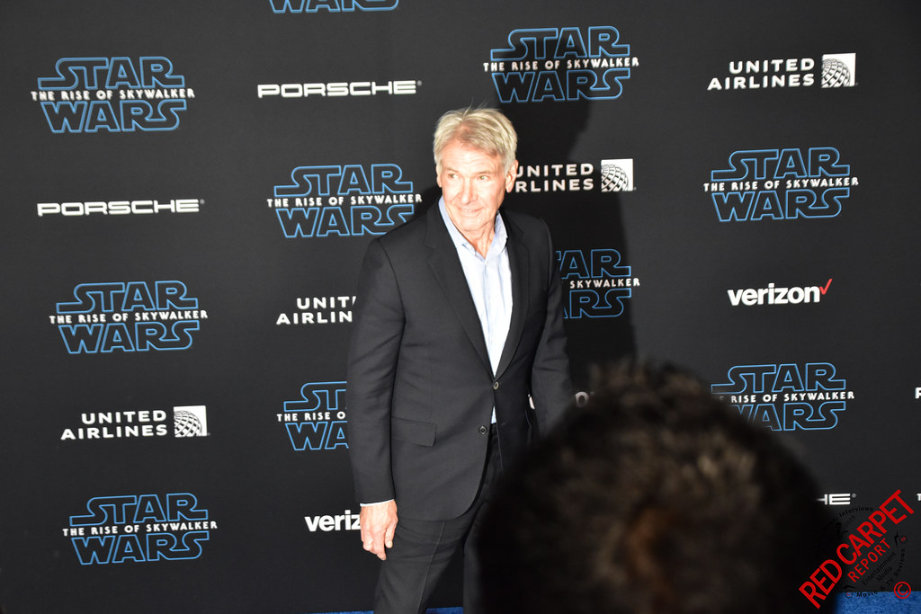 Harrison Ford At The Star Wars The Rise Of Skywalker Los A Flickr