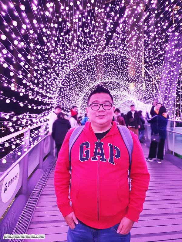 christmasland taipei tunnel of light