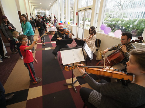 Children's Holiday Concert and Instrument Petting Zoo