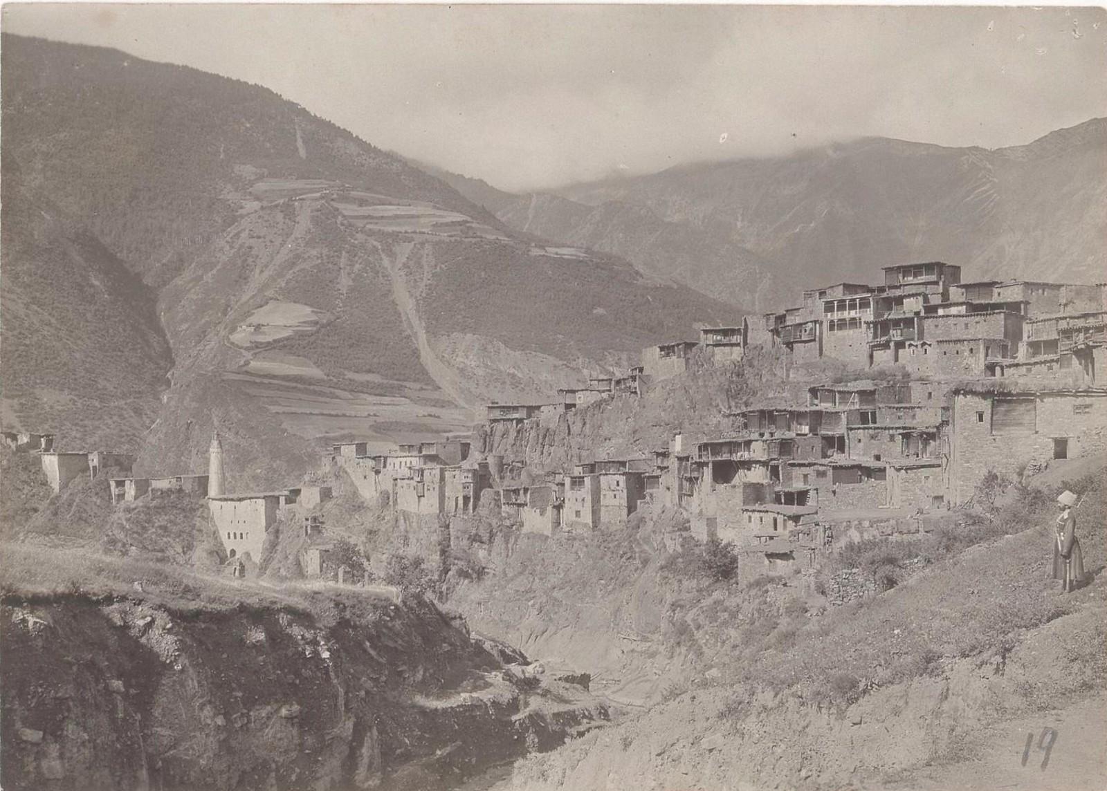 19. Восточный Кавказ. Дагестан. Селение Тинди, август 1898