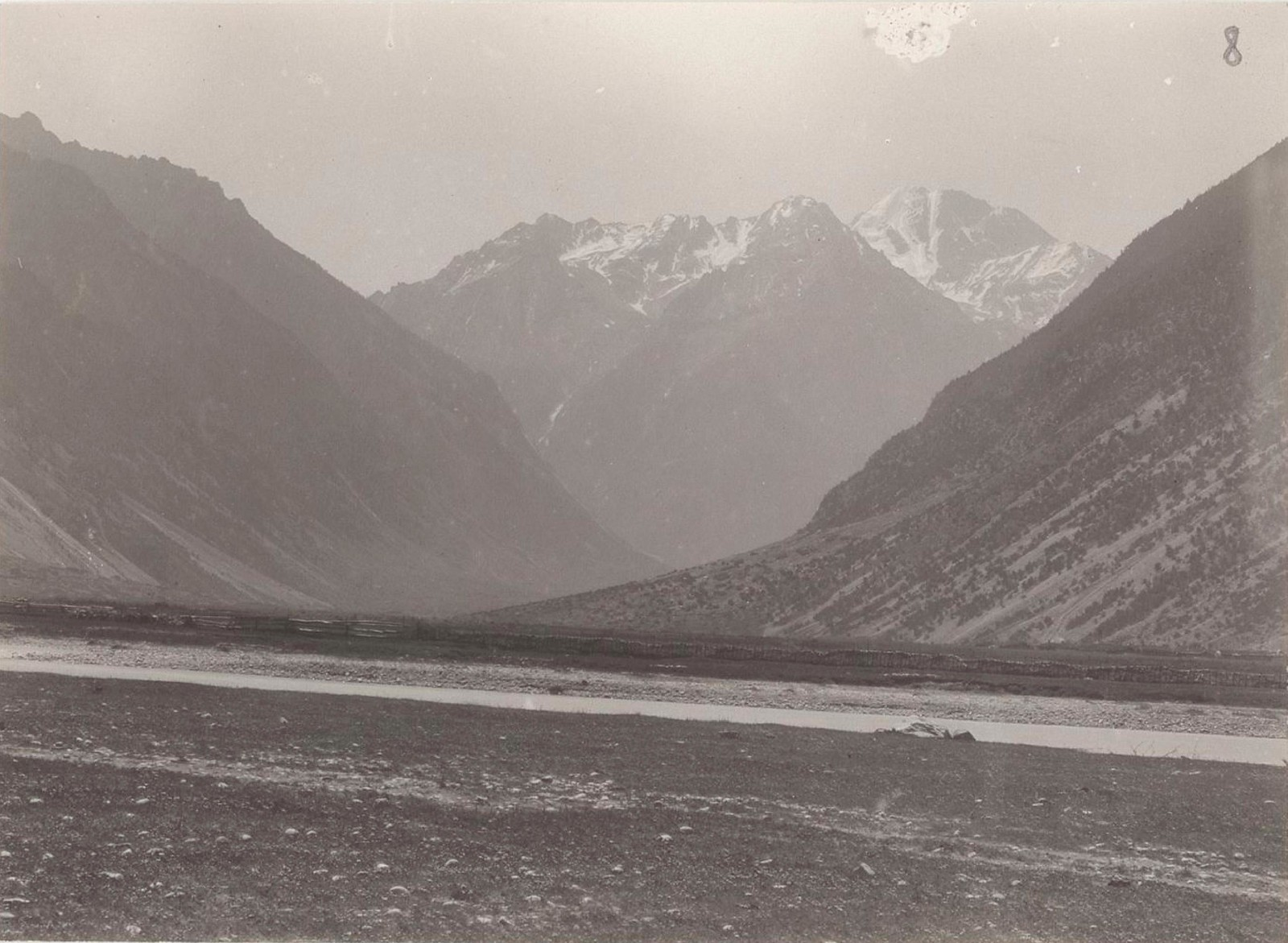 03. Западный Кавказ. Долина р. Улукам около Хурсука, июль 1898