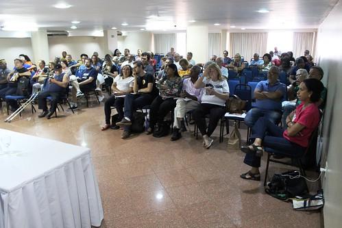 Seminário sobre as consequências das contrarreformas da Previdência, Administrativa e Sindical
