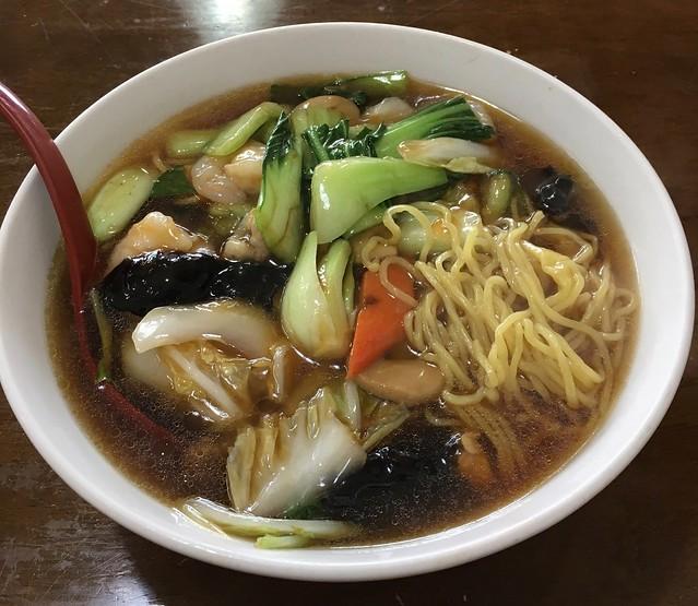 中国家庭料理 京華の五目ラーメン!