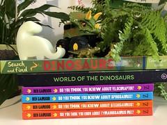 Dinosaur books my sons love. Evinok.com
