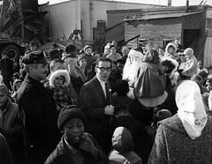 1965 Santa Visits Big Scot in Peekskill