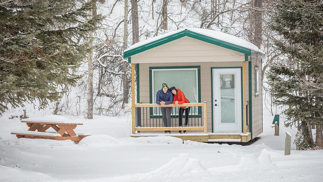 Cozy up to winter camping this holiday season
