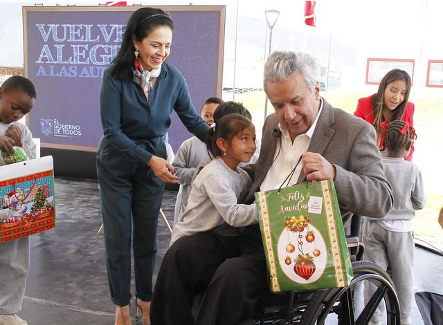 INAUGURACIÓN UNIDAD EDUCATIVA EQUINOCCIO. QUITO, 17-12-2019