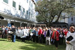Episcopal Florida posted a photo:Dedication of the new Episcopal education building at Redeemer, downtown Sarasota, Florida.