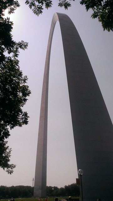 Gateway Arch, Jefferson National Expansion Memorial 9/9/2013
