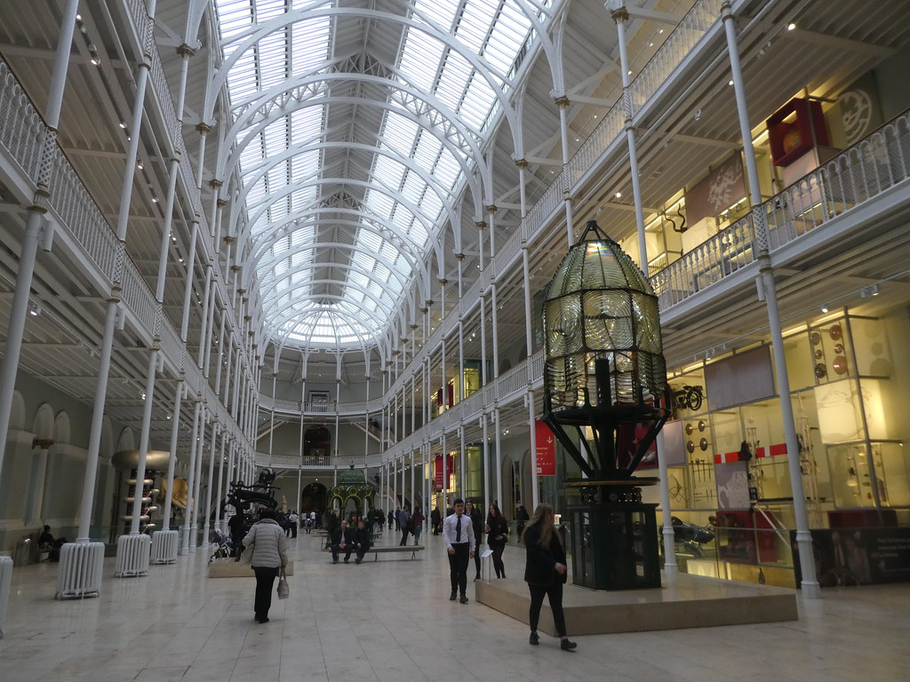 The Grand Gallery, Museum of Scotland