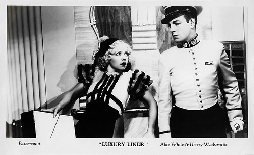 Alice White and Henry Wadsworth in Luxury Liner (1933)