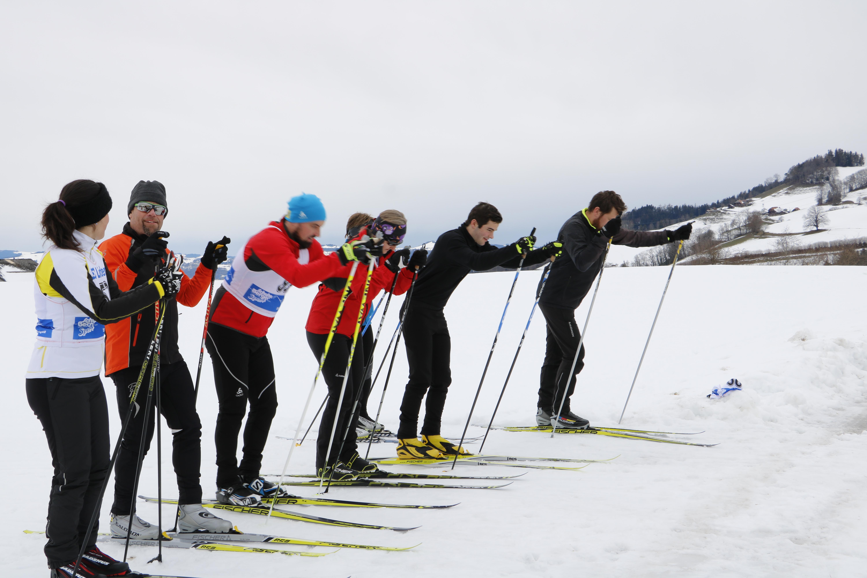Klubrennen Langlauf 10. Februar 2019