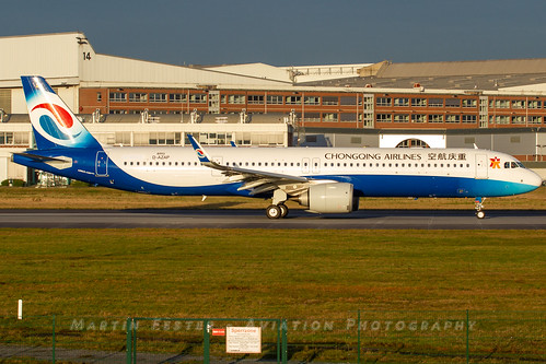 D-AZAP // Chongqing Airlines // A321-253NX // MSN 8993 // B-30E3 | by Martin Fester - Aviation Photography