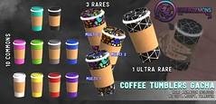 {ID} Coffee Tumblers Gacha