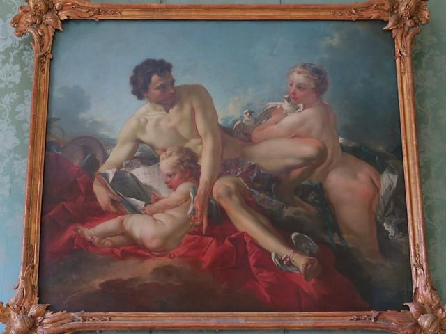 Vénus, Mercure et Cupidon (1742), François Boucher - Château de Charlottenburg, nouvelle aile, Berlin