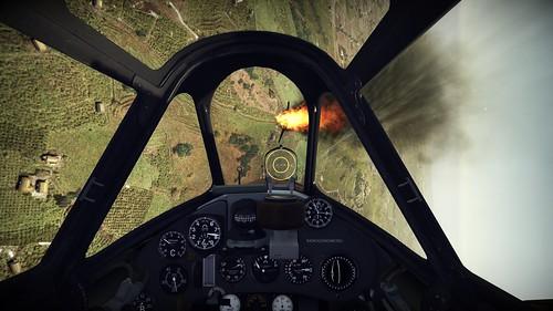 Wings of Prey (PC) - Macchi C202 v P40 Dog Fight