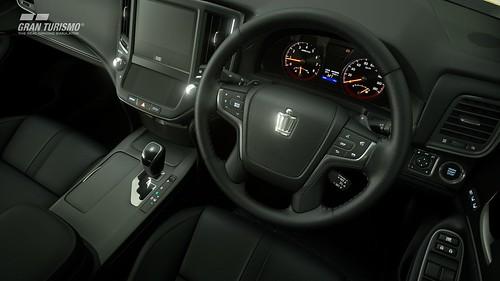 Toyota Crown Athlete G '13 (N300) Cockpit