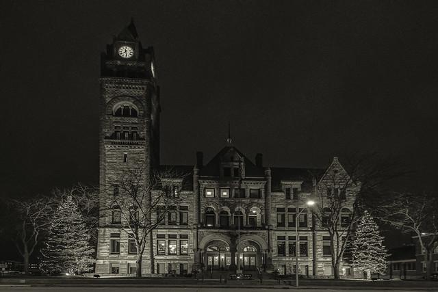 Bay City Hall ~ Romanesque Architecture