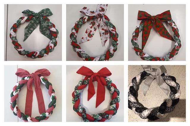 Plaited Wreaths
