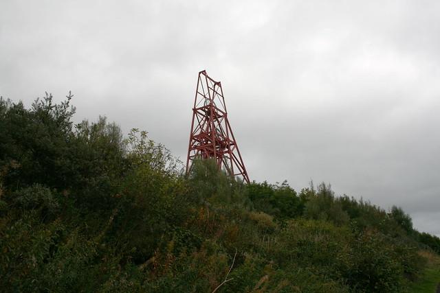 Frances Colliery near Kirkcaldy