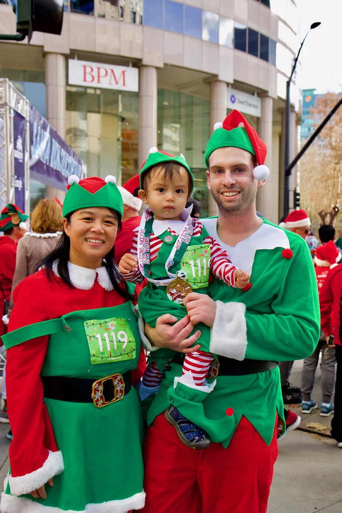 2019 Santa Run Silicon Valley