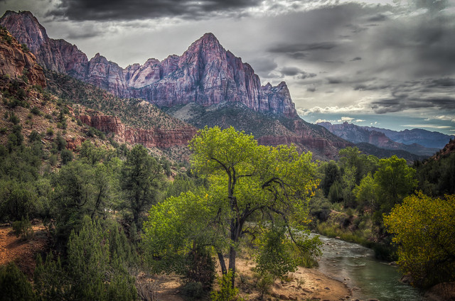 The Watchman above the Virgin River